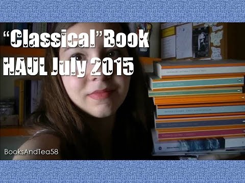 """A """"Classical"""" BOOK HAUL 