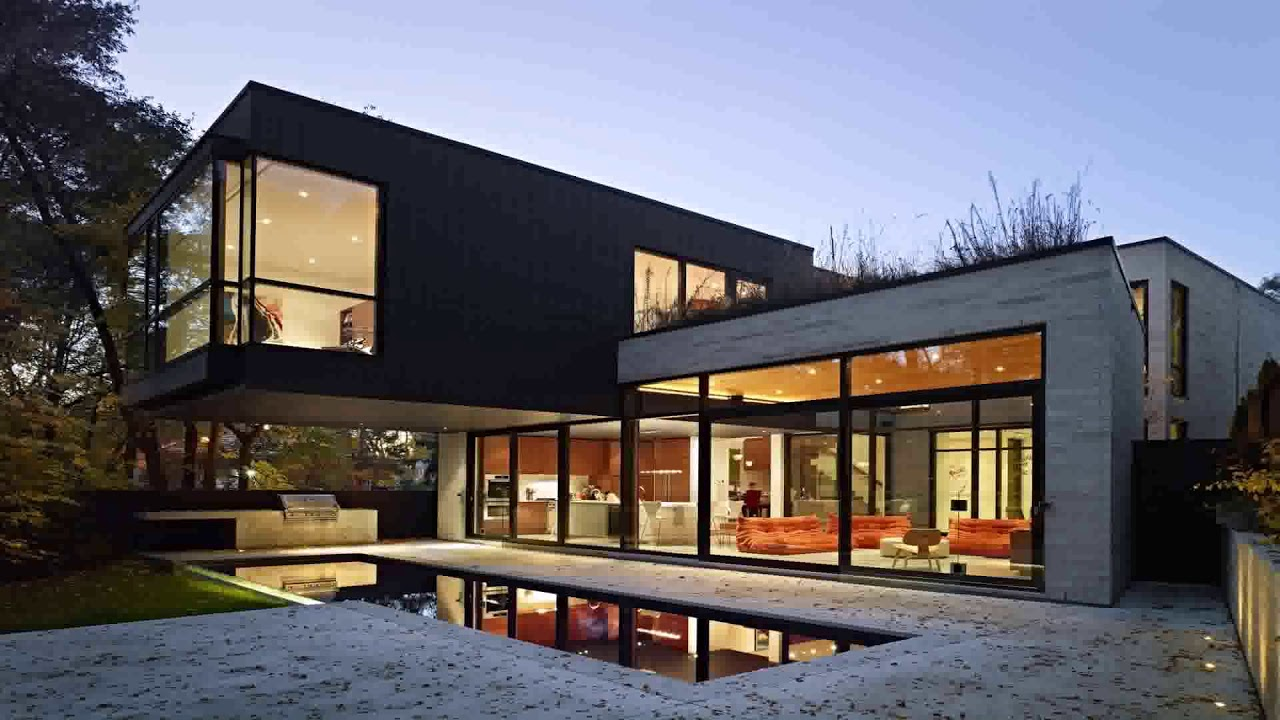 Modern Exterior House Design With Swimming Pool