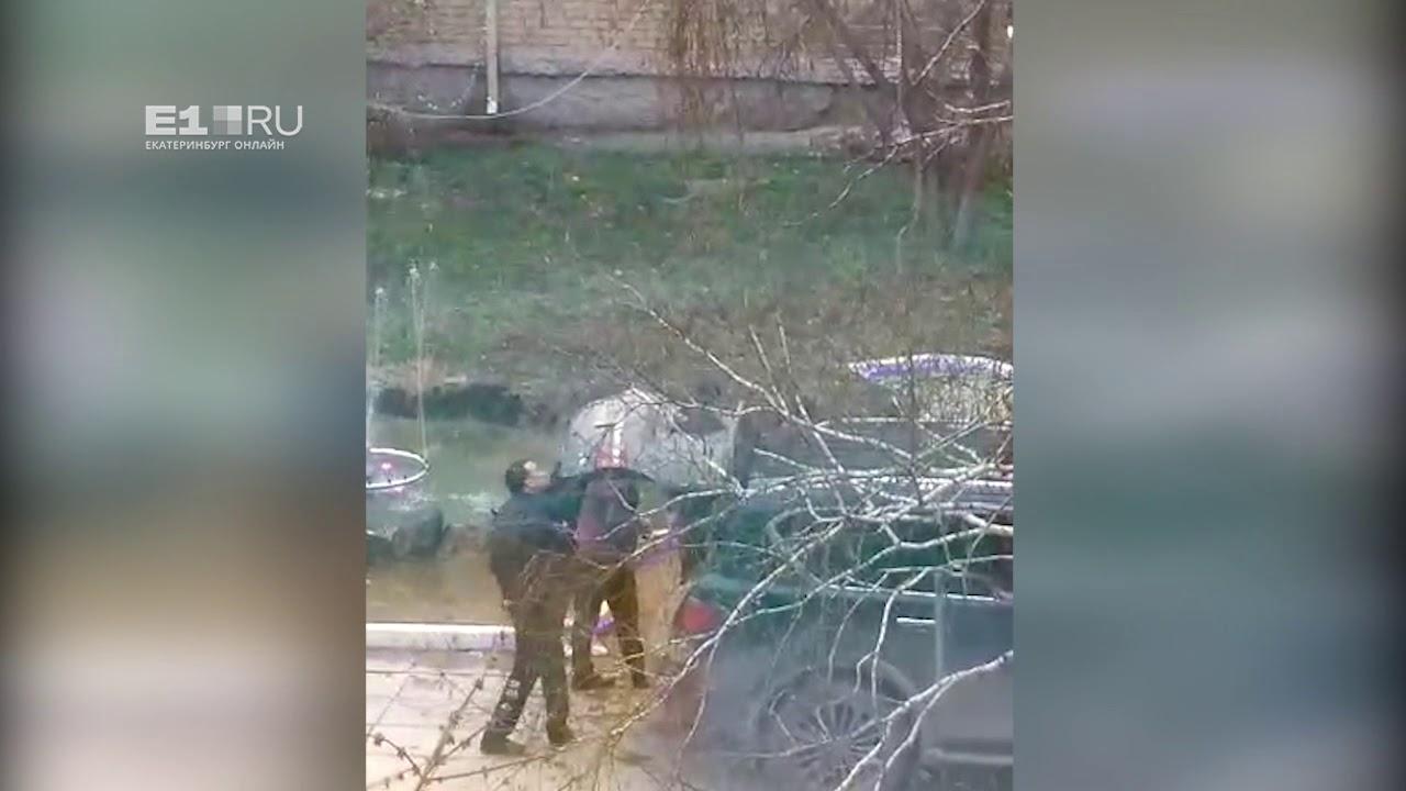 Стрельба из автомата в Камышлове