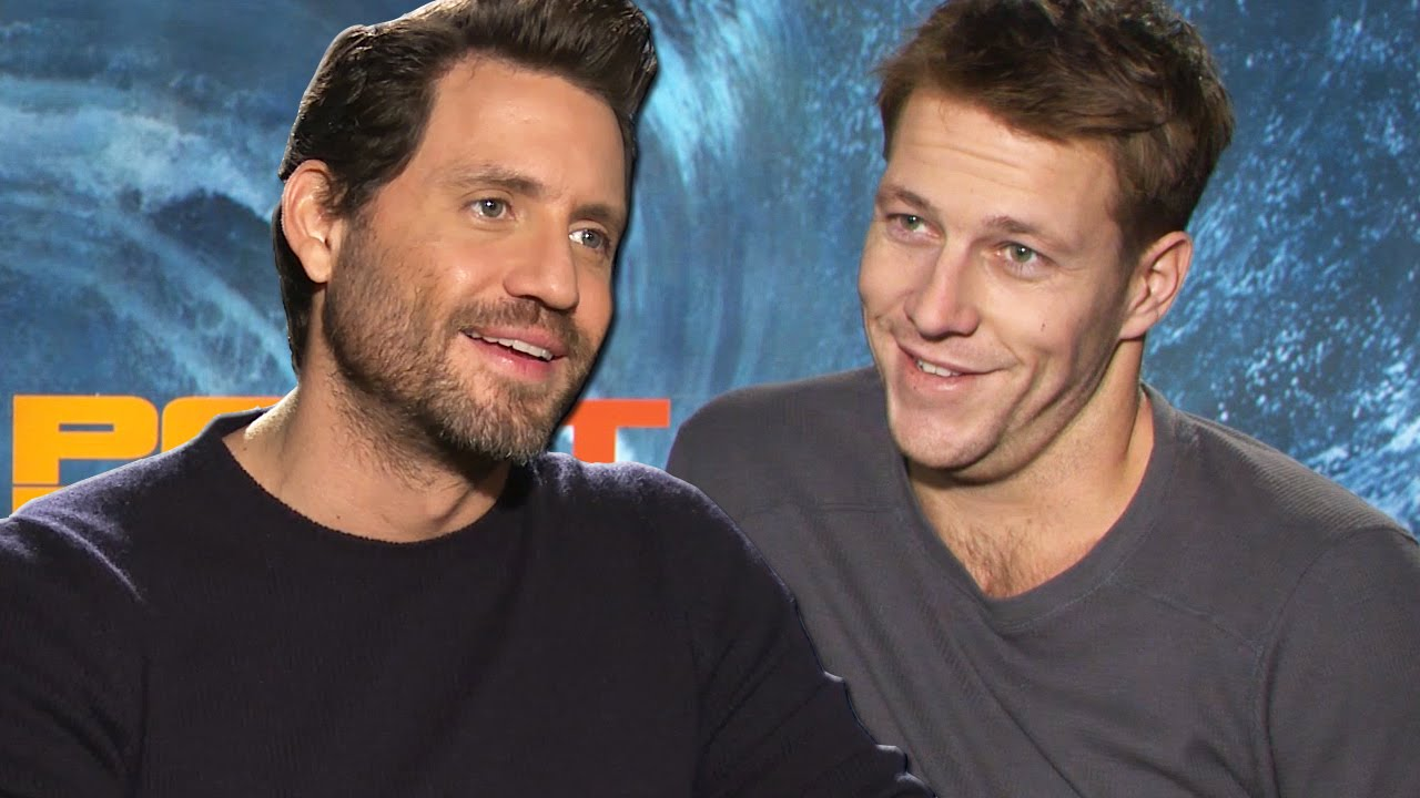Point Break Cast Talk Remaking A Cult Classic - YouTube