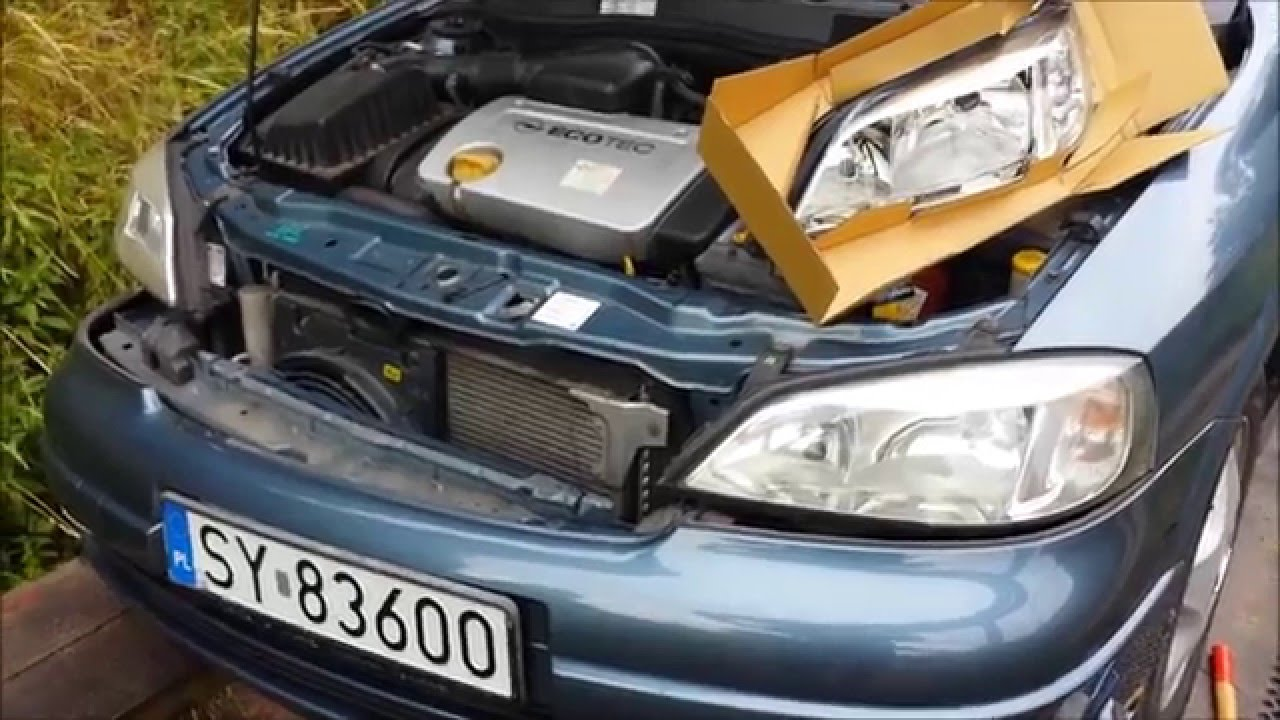 Led Verlichting Astra G Replacement Lamp Spotlight Opel Astra Ii G Vauxhall H7 Step By Step How To