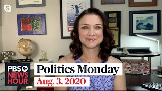 Tamara Keith and Amy Walter on Trump's ad messaging, Biden's VP choice