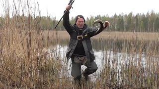 Огромная щука перегрызла поводок Щука на поплавок Рыбалка в Беларуси
