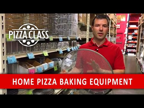 Equipment For Pizza Baking At Home