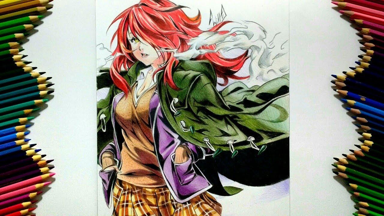 Drawing - Rindou Kobayashi ( Shokugeki no souma 食戟のソーマ )