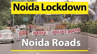 Riding Scooty on Noida Roads During Lockdown 4.0 | Noida Sector 30, 28, 29, 37, 44, 18 Roads