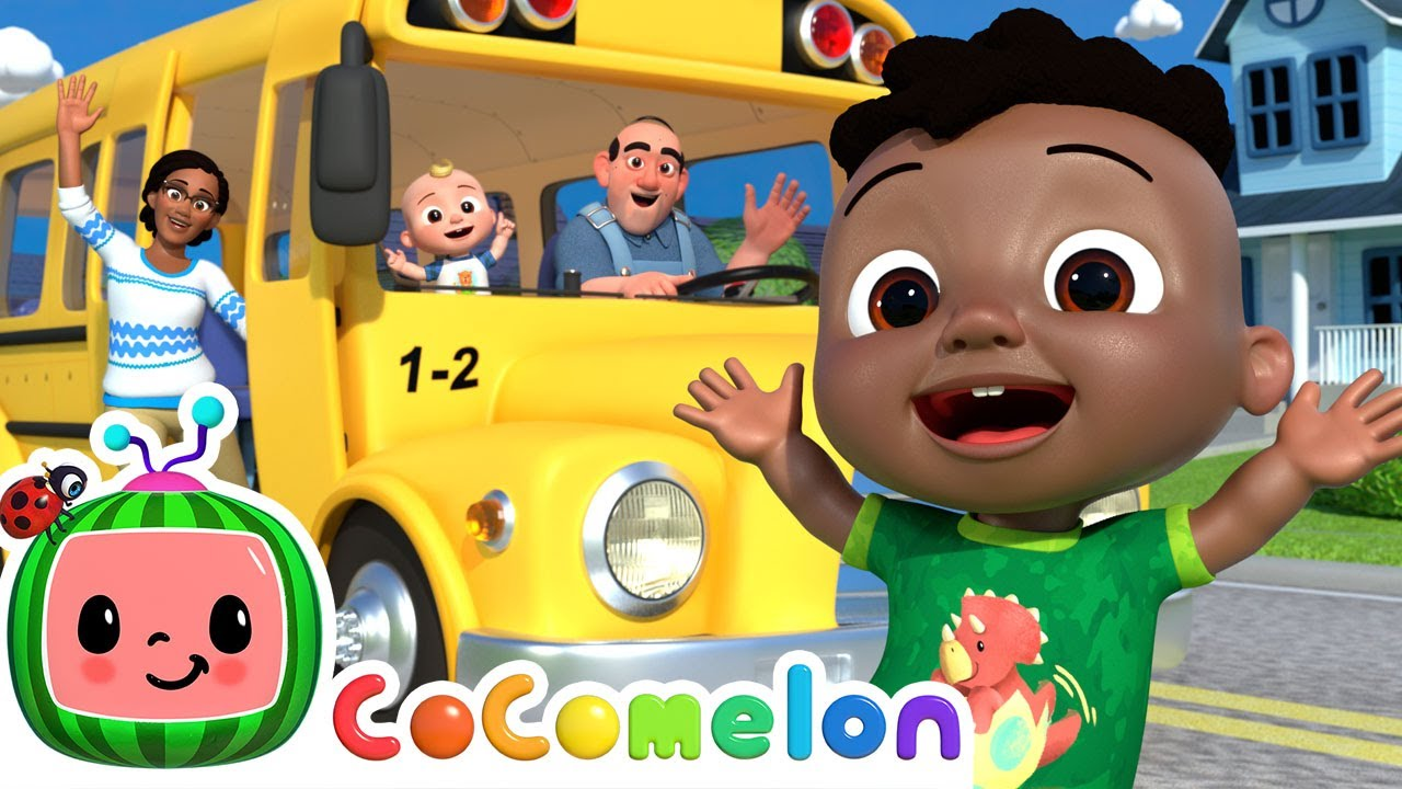 Download Wheels On The Bus | CoComelon Nursery Rhymes & Kids Songs