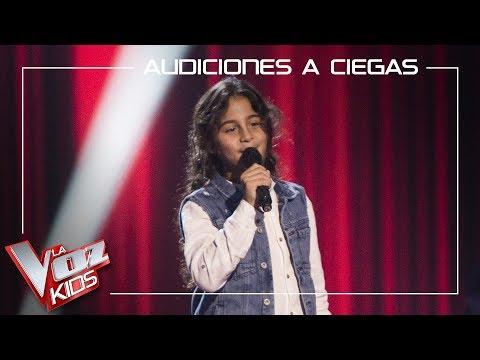 Juan Miguel Cortés Canta 'Al Amanecer'   Audiciones A Ciegas   La Voz Kids Antena 3 2019