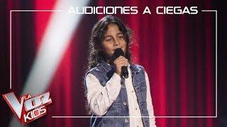 Juan Miguel Cortés canta 'Al amanecer' | Audiciones a ciegas | La Voz Kids Antena 3 2019