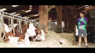 Franck Blanc producteur laitier bio à la ferme du Menhir