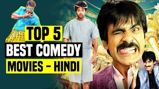 Top 5 Best South Indian Comedy Movies In Hindi Dubbed | Part 2