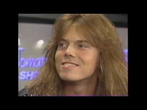 Joey Tempest (Europe) - Music Tomato Rock Show 1991