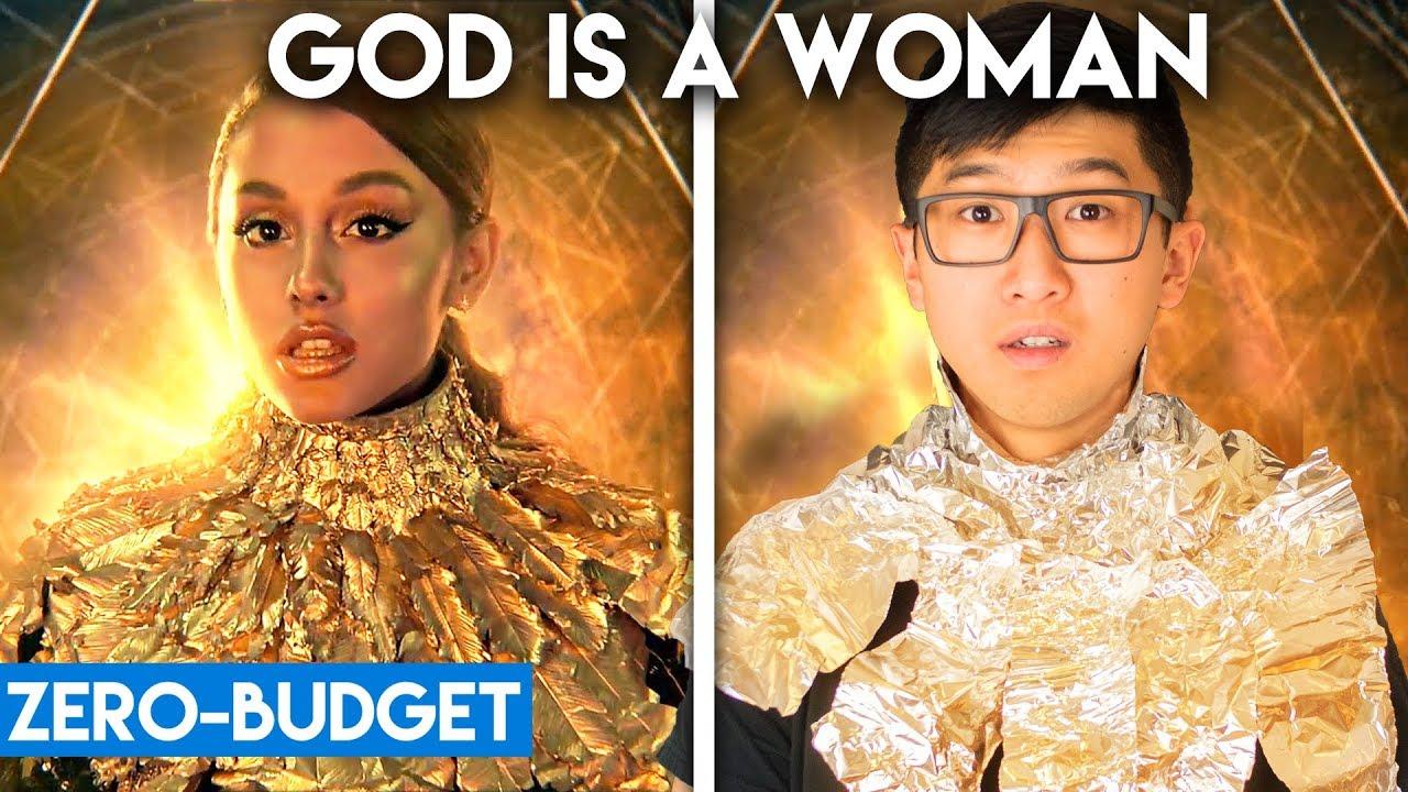 Download ARIANA GRANDE WITH ZERO BUDGET! (God is a Woman PARODY)