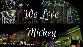 We Love Mickey | Main Street USA Projection Show | Hong Kong Disneyland