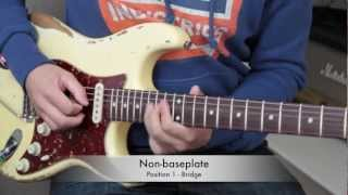 BKP Tutorial: Baseplate option on Stratocaster coil