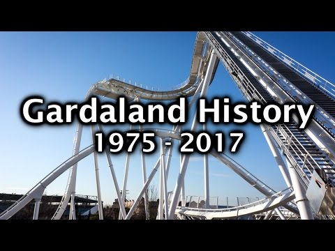 Gardaland History 1975 - 2017