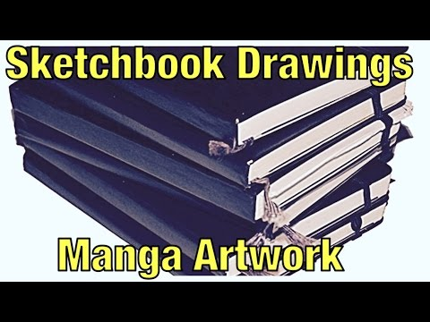 Sketchbook Manga Drawings