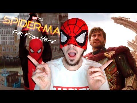 VIENDO EL TRAILER SPIDERMAN FAR FROM HOME