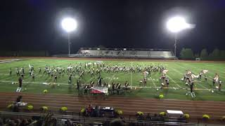 "Cherry Hill East Marching Band Performs ""The Firebird"" 10/20/2018"