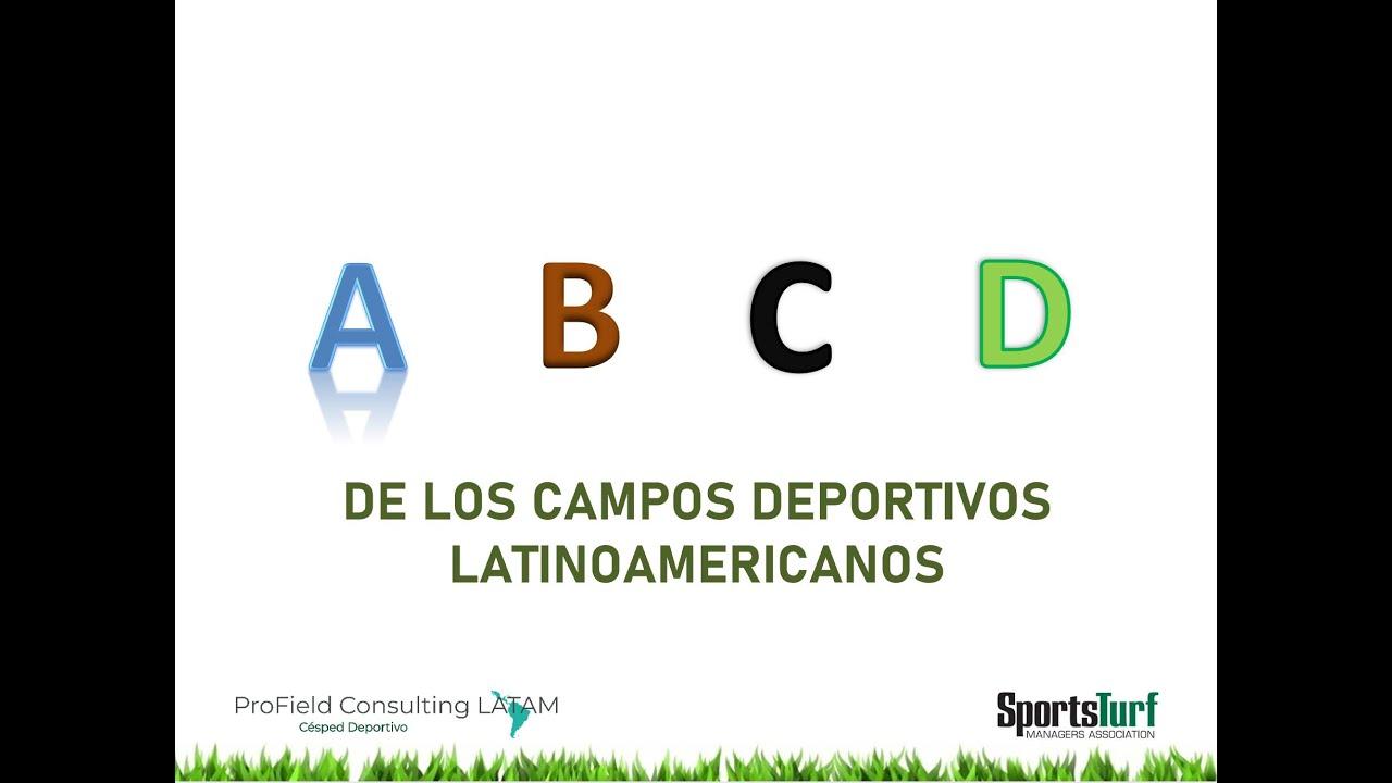 Webinar: ABCD de los Campos Deportivos en Latinoamérica