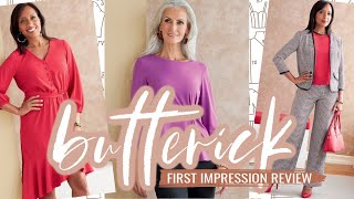 Butterick Sewing Patterns  |  Fall 2020  |  First Impression