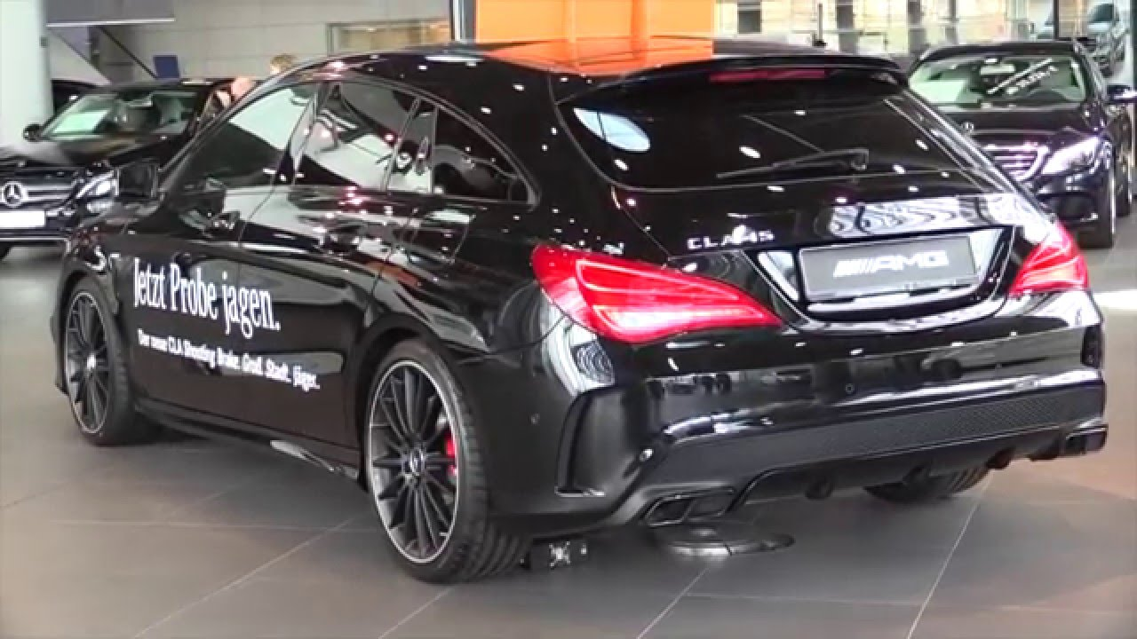 Mercedes Benz Cla45 Amg Shooting Brake 2016 In Depth Review Interior Exterior You