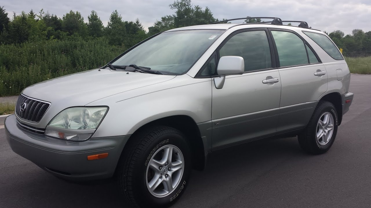 sold.2003 LEXUS RX300 AWD 3.0 V6 SILVER METALLIC 91K ...