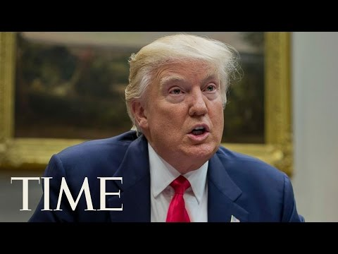 President Donald Trump Meets With NATO Secretary General Jens Stoltenberg | TIME