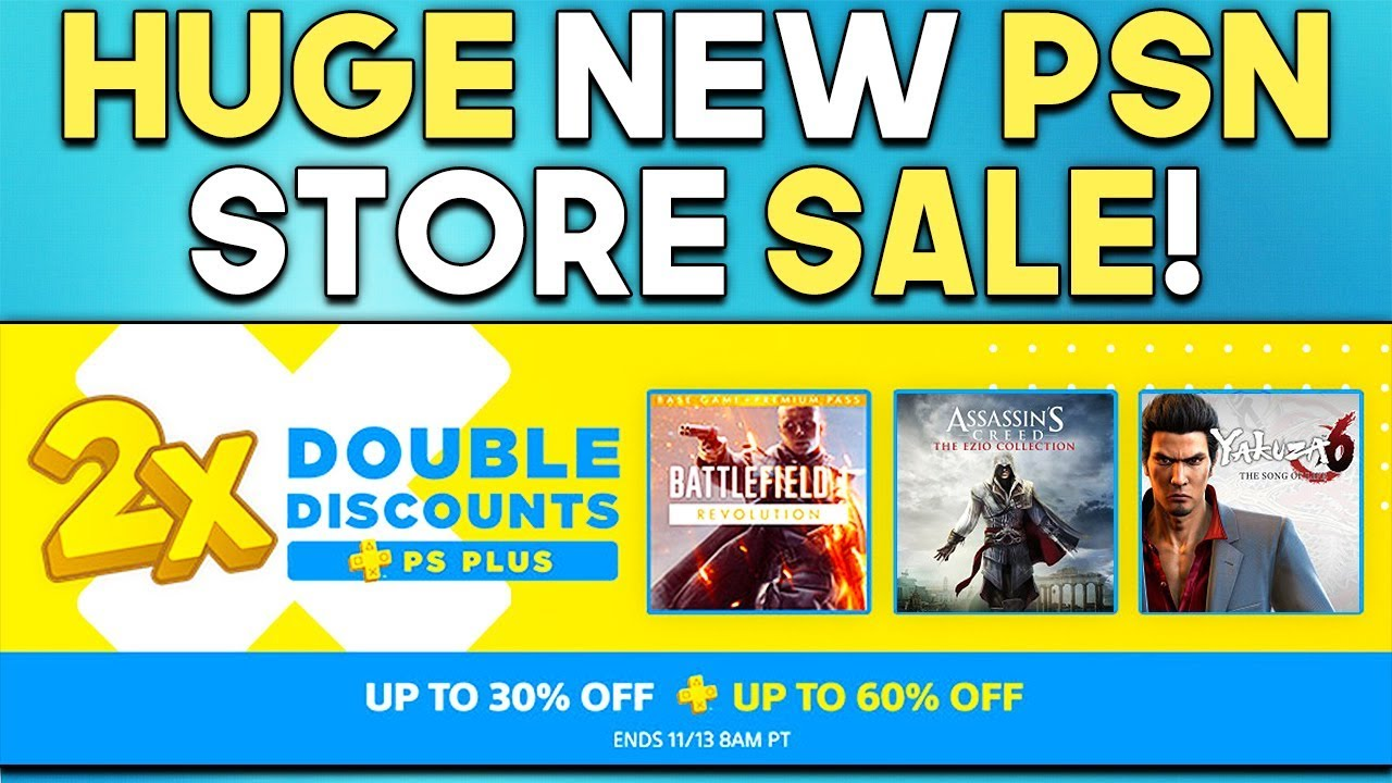 HUGE NEW PSN Store SALE! 40% OFF PSN Store Codes CHECK YOUR EMAILS!