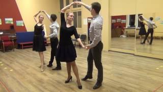 Схема танца Менуэт.