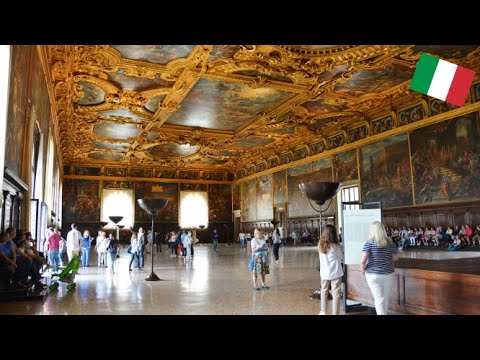 DOGE'S PALACE IN VENICE-IT'S GOOD TO BE THE DOGE!