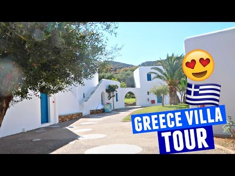 LUXURY GREECE VILLA TOUR | Greece Traveling Day 12!