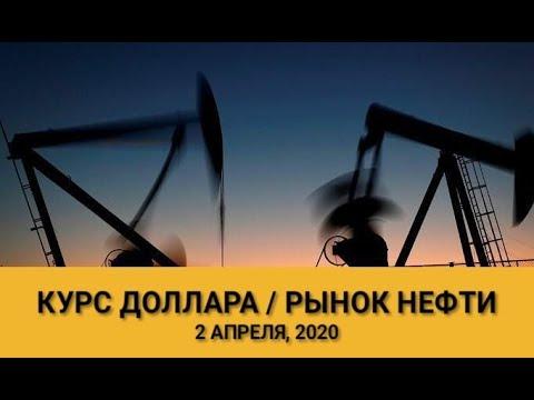 КУРС ДОЛЛАРА / РОССИЯ И САУДОВСКАЯ АРАВИЯ НА РЫНКЕ НЕФТИ (обзор от 2 апреля, 2020)