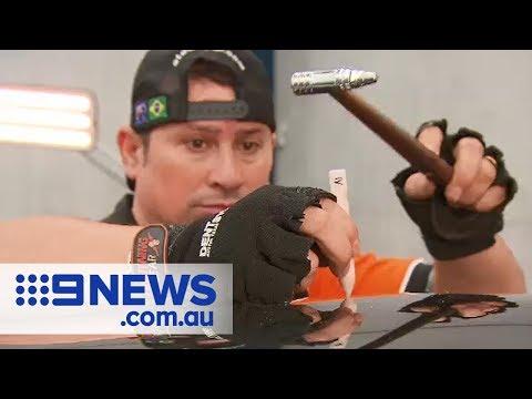 How Hail Damaged Cars Are Repaired | Nine News Australia