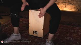 MEINL Percussion - Pickup Woodcraft Series Cajon, Natural - PWC100B