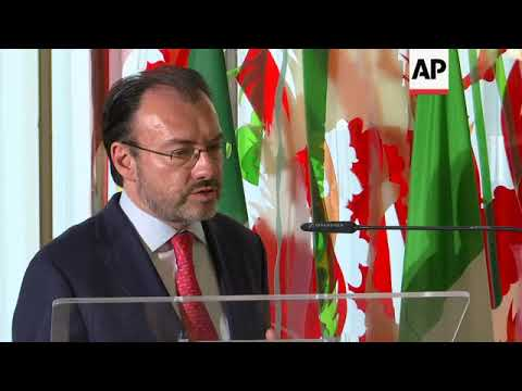 Italy and Mexico seeking global migration pact