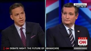 Full CNN Debate: Bernie Sanders Vs. Ted Cruz