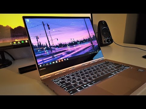 "New 2018 Lenovo Yoga 920 13.9"" Unboxing and First Look!"