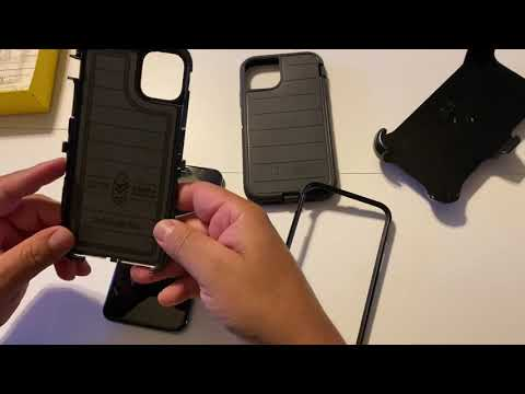 Otterbox defender pro case for iPhone 11 pro max
