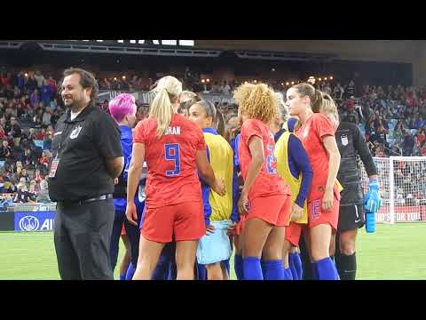 USWNT Victory Tour vs Portugal