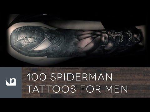 100 Spiderman Tattoos For Men