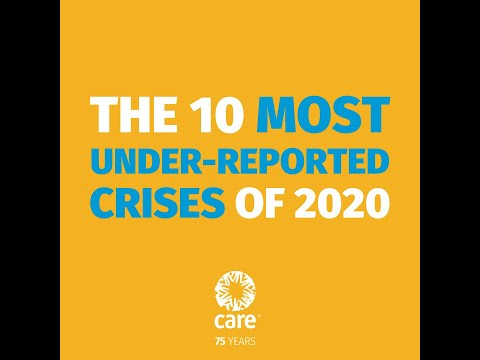 The 10 Most Under-Reported Humanitarian Crises of 2020