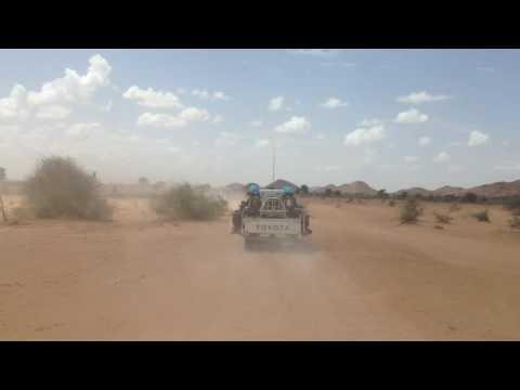 UNAMID CBP Kabkabiya, Darfur