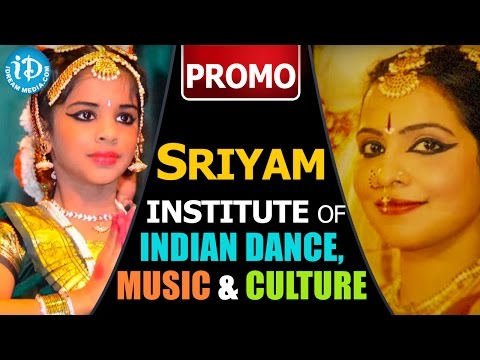 Sriyam Institute Of Indian Dance, Music And Culture - Promo || New Jersey, USA