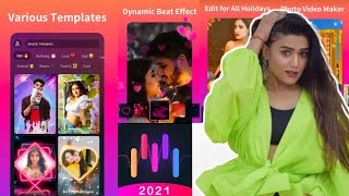 Snack Video Maker App with Song Mast | Snack Video Kaise Banaye | Photo Video Maker screenshot 1