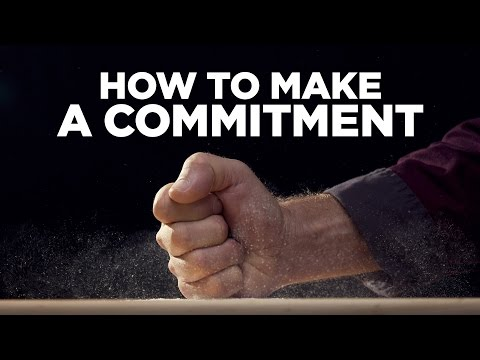 How to Make a Commitment - Young Hustlers