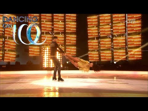 Jake and Vanessa Pull Off a Dancing on Ice First Headbanger! | Dancing On Ice 2018