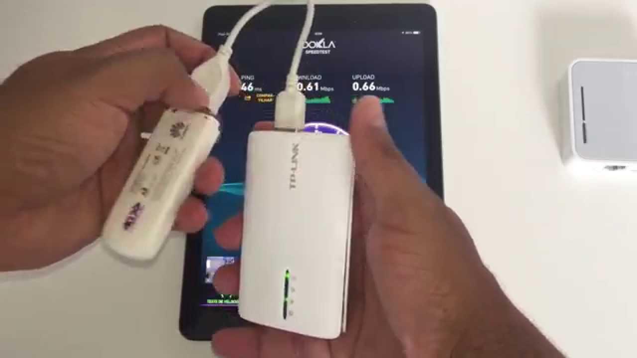 TPLink TL MR3040 - Roteador Wi-Fi Portatil com Bateria e