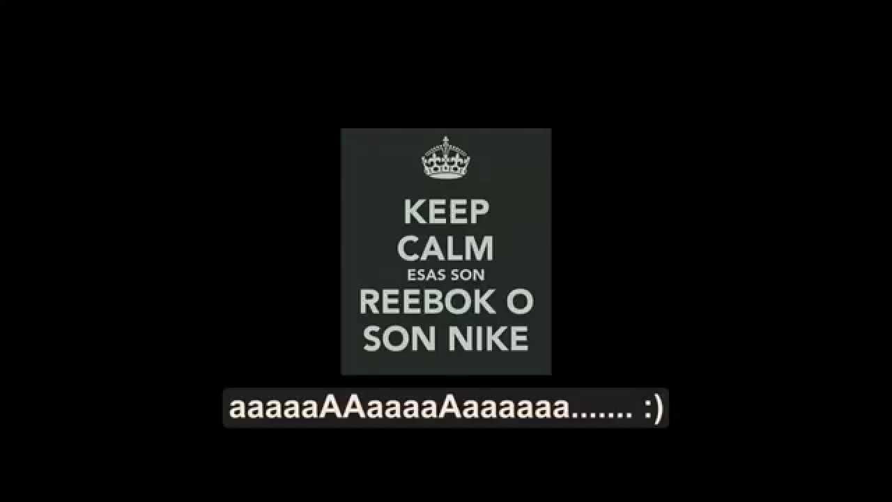 a reebok or a nike