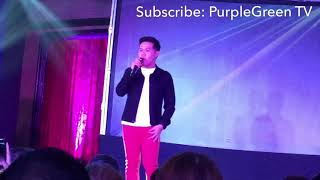Marcelito Pomoy sings JK Labajo's Buwan with funny bisaya lyrics at Pagcor Cebu